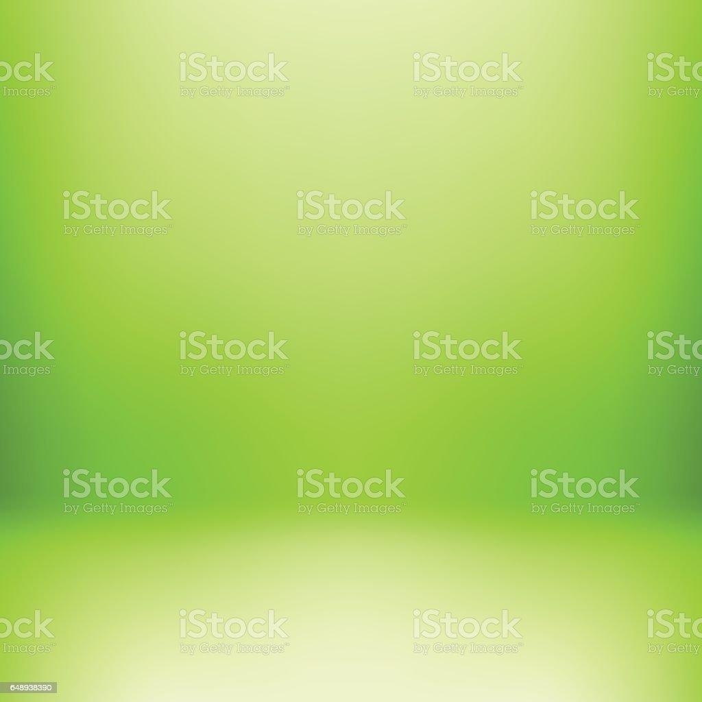 Green Studio Background vector art illustration