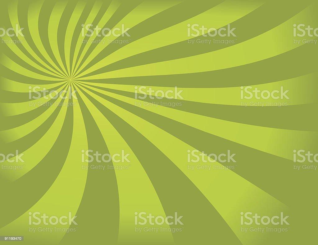 Green Swirly Background royalty-free stock vector art