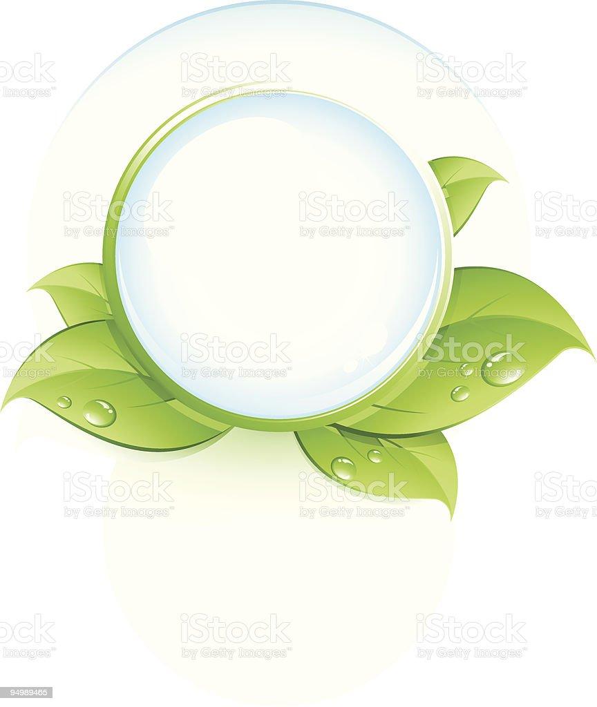 Green symbol royalty-free stock vector art