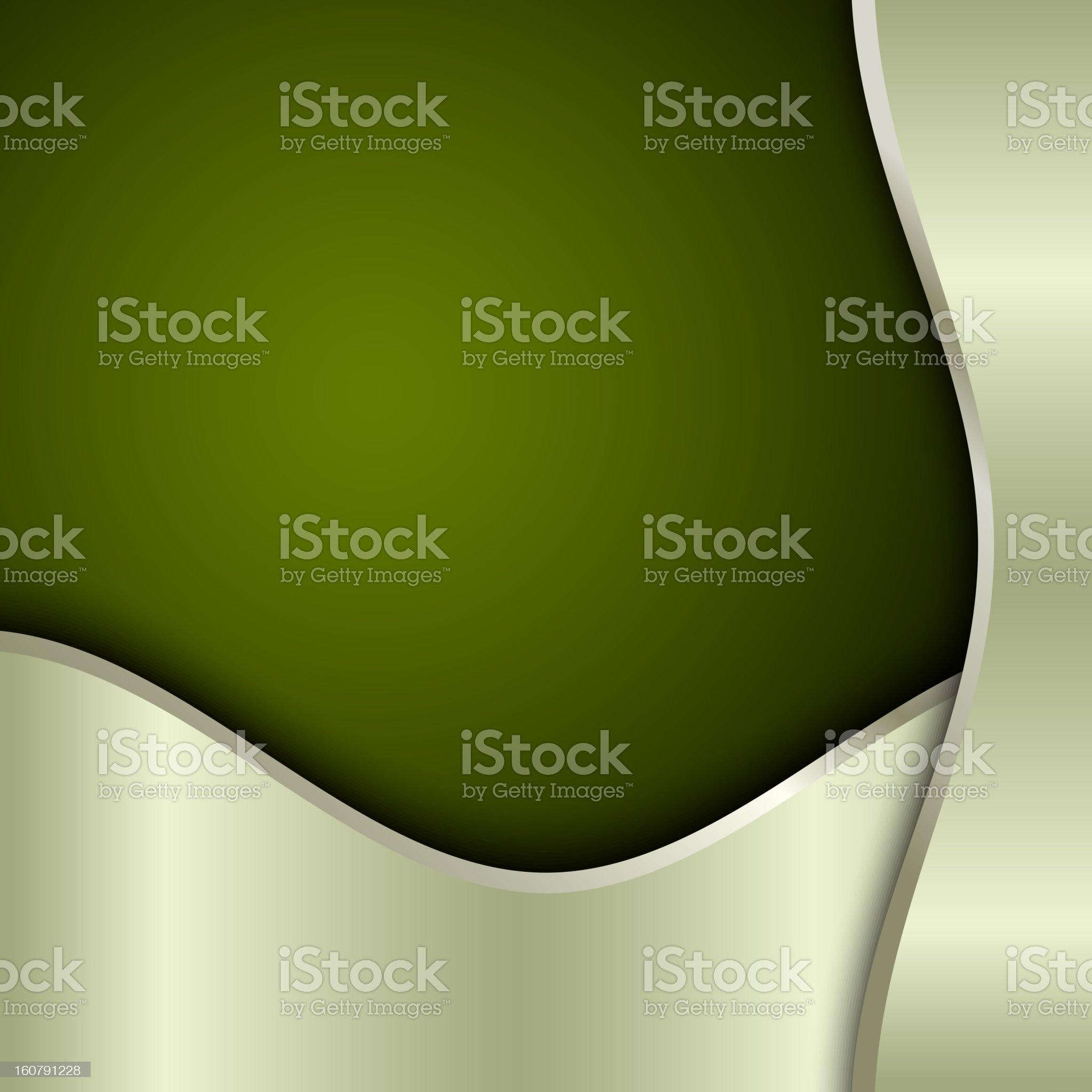 Green template royalty-free stock vector art