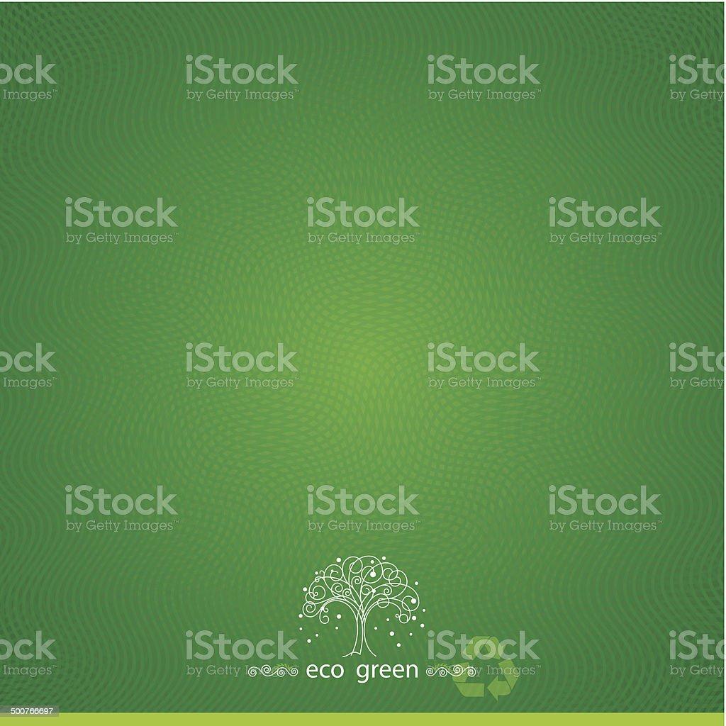 Green Textured Background vector art illustration