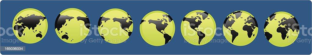 green world series royalty-free stock vector art