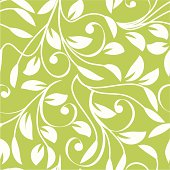 Green world-leafy pattern