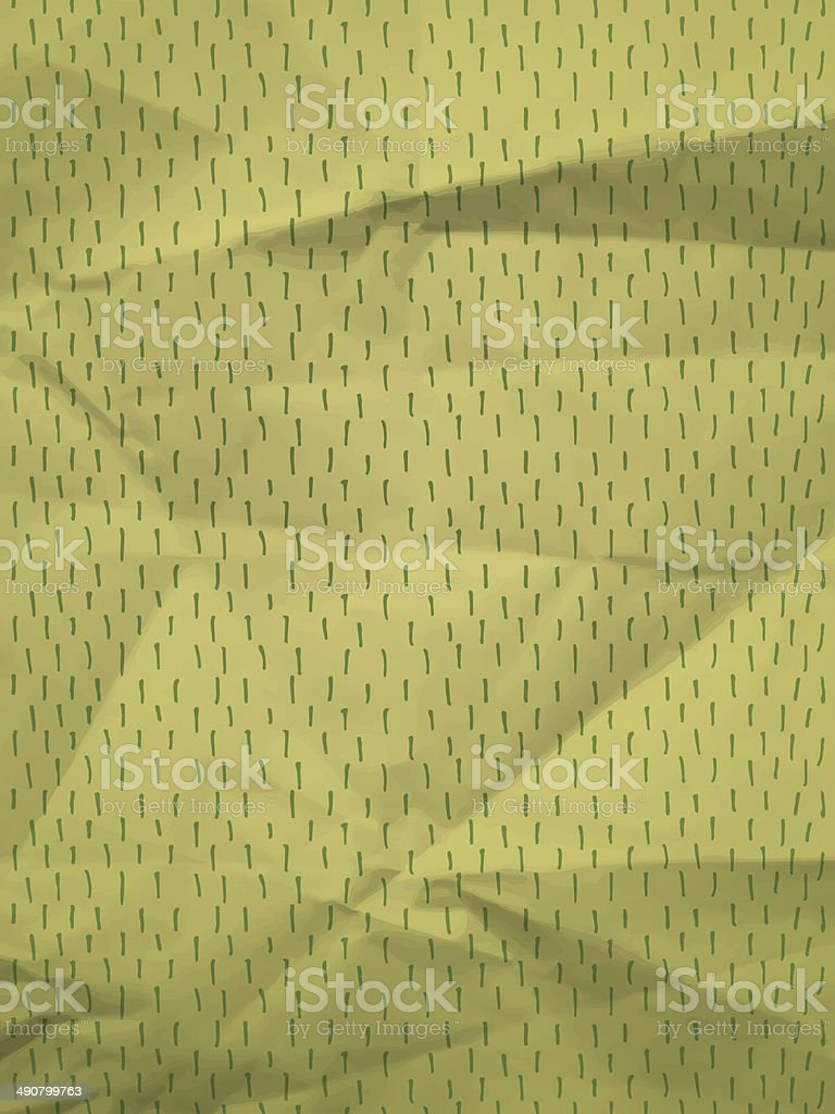 Green wrapping paper with dashes royalty-free stock vector art