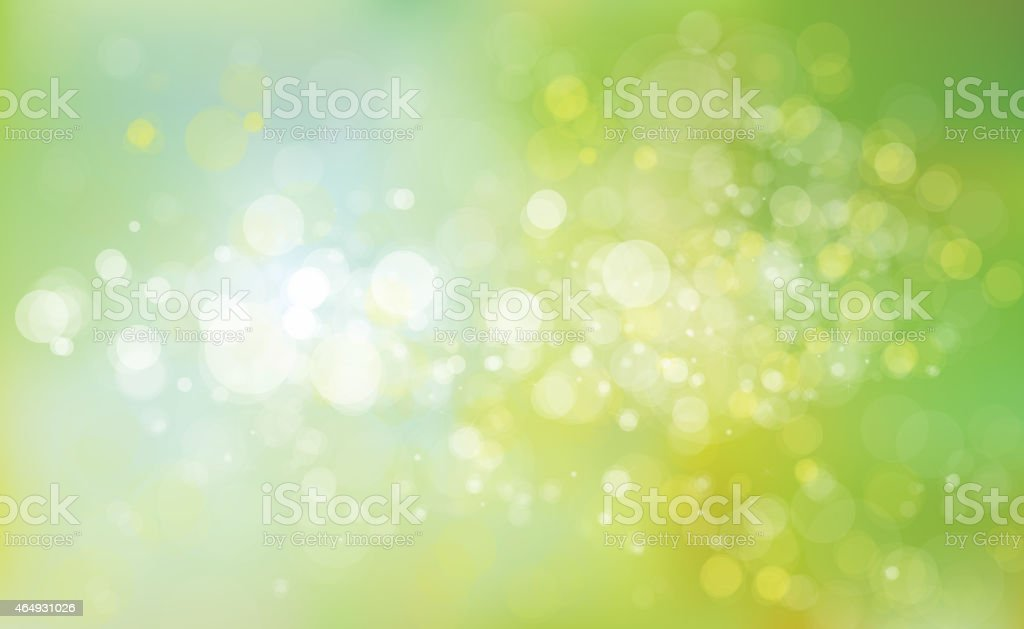 Green, yellow and blue abstract background vector art illustration