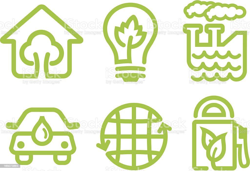 Greener Tomorrow vector art illustration
