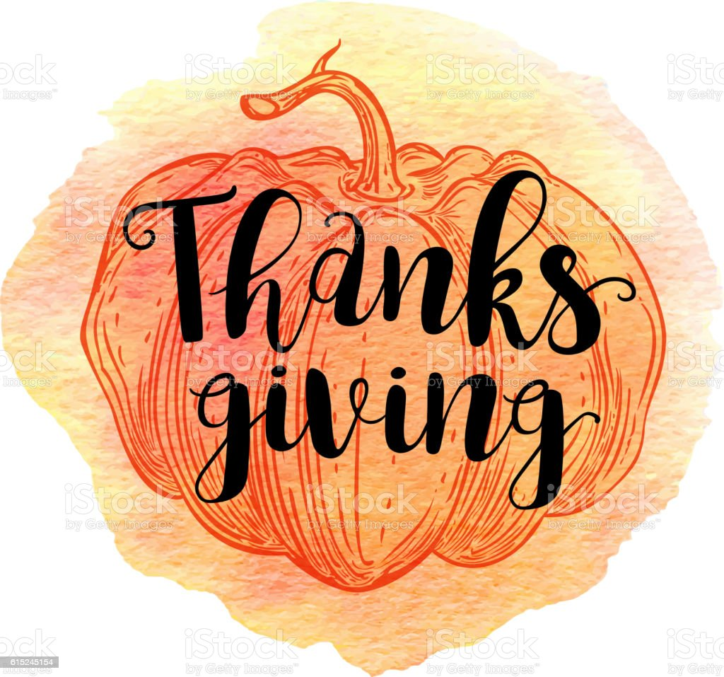 Greeting card for Thanksgiving Day. vector art illustration