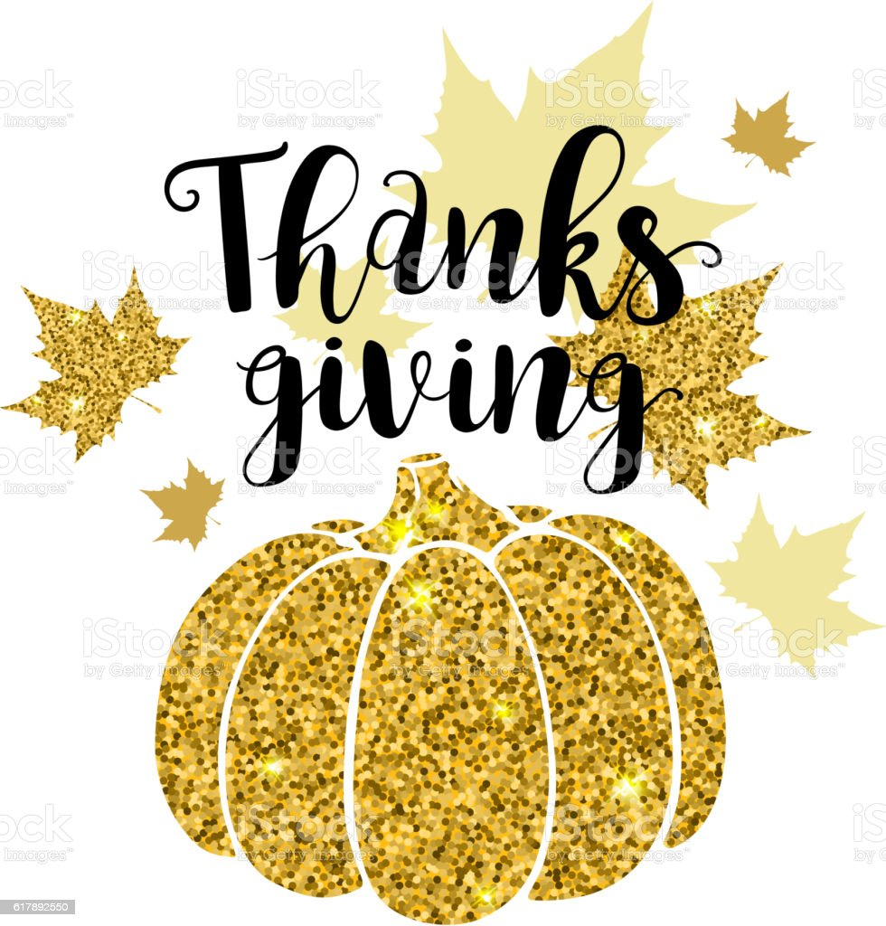 Greeting card for Thanksgiving Day vector art illustration