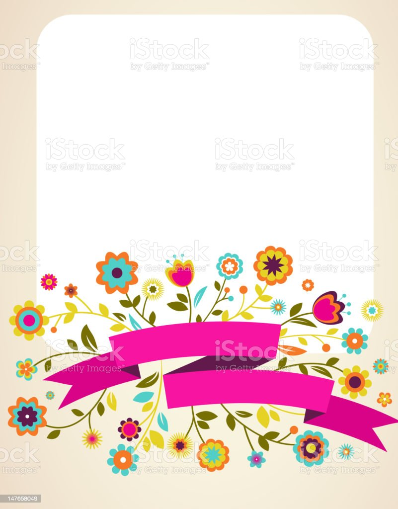 Greeting card, invitation, wedding or announcement royalty-free stock vector art