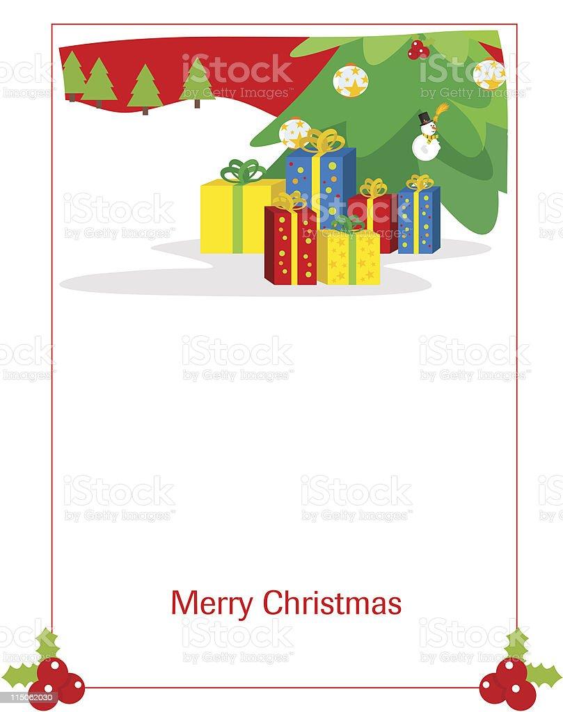 Greeting Card royalty-free stock vector art
