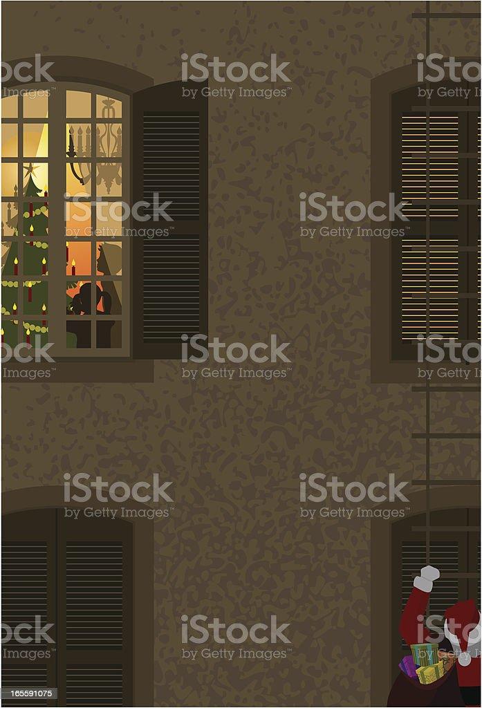 Greeting card vector art illustration