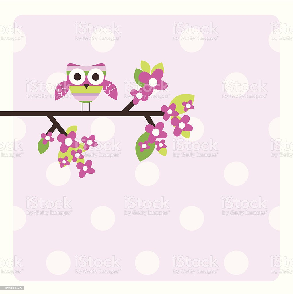 Greeting card with copy space royalty-free stock vector art