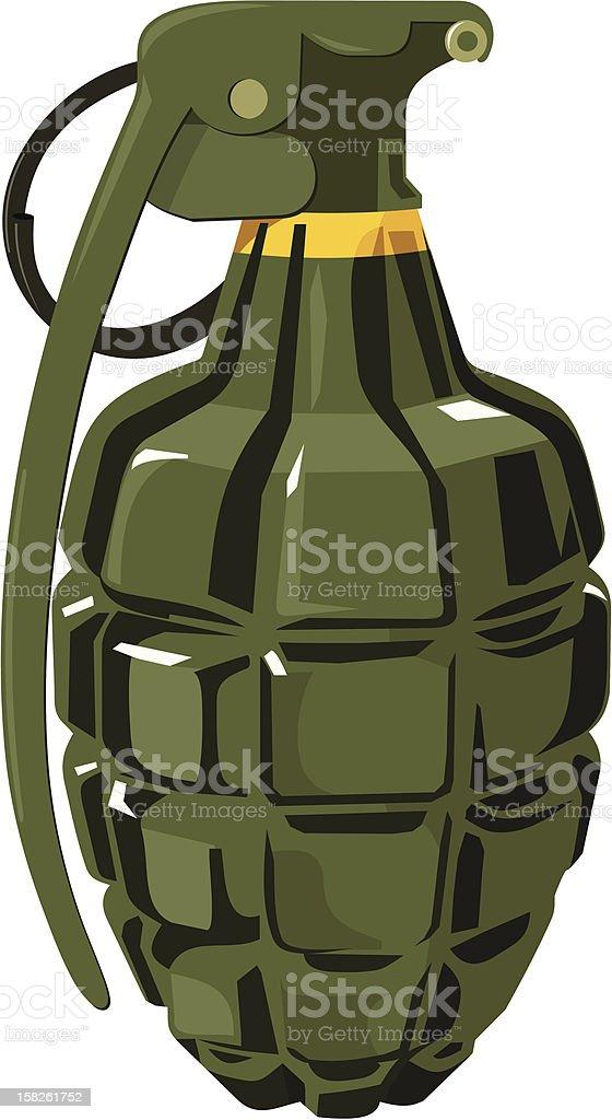 Grenade royalty-free stock vector art