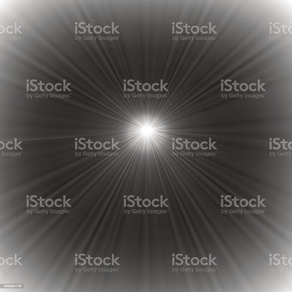 Grey Blurred Background vector art illustration