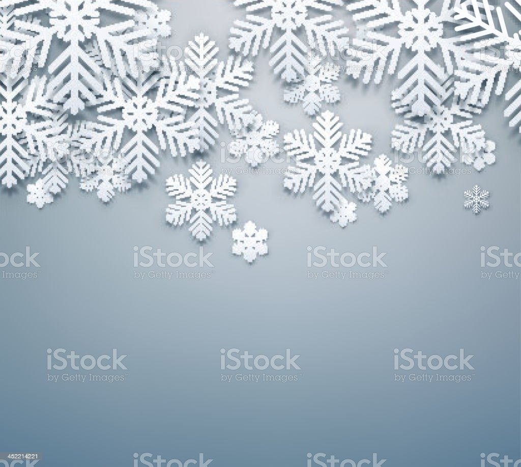 Grey christmas background. royalty-free stock vector art