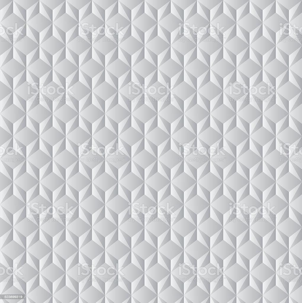 Grey geometric pattern vector art illustration