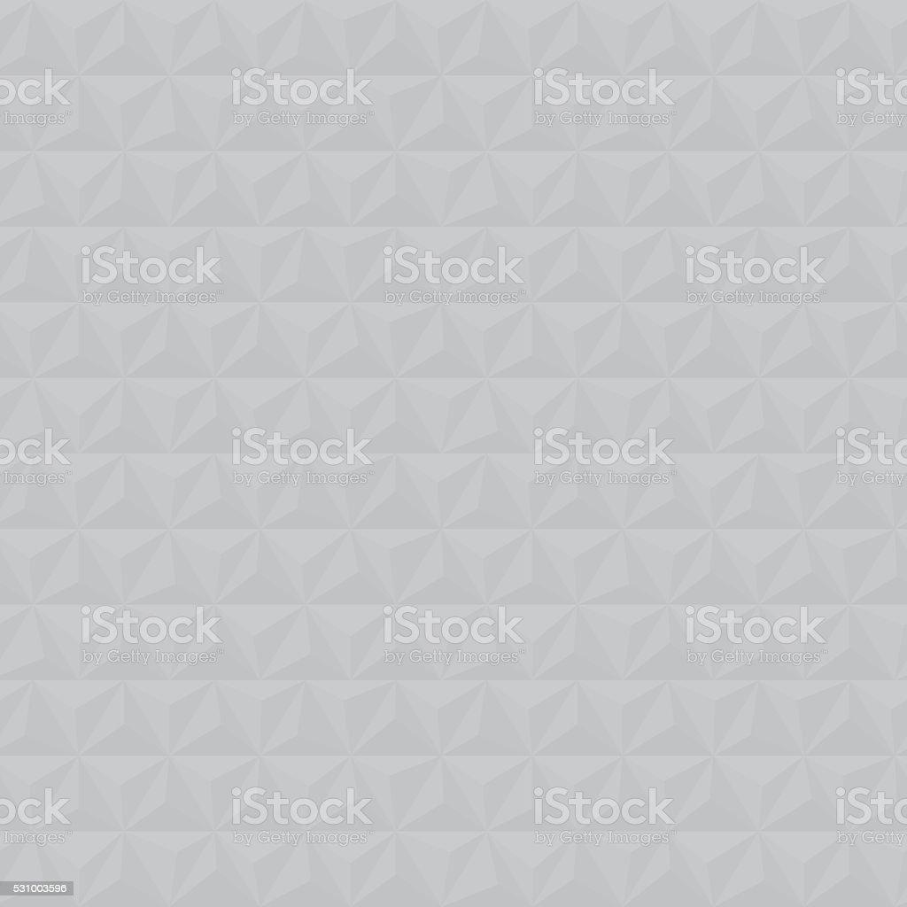 Grey geometric triangle seamless vector pattern vector art illustration