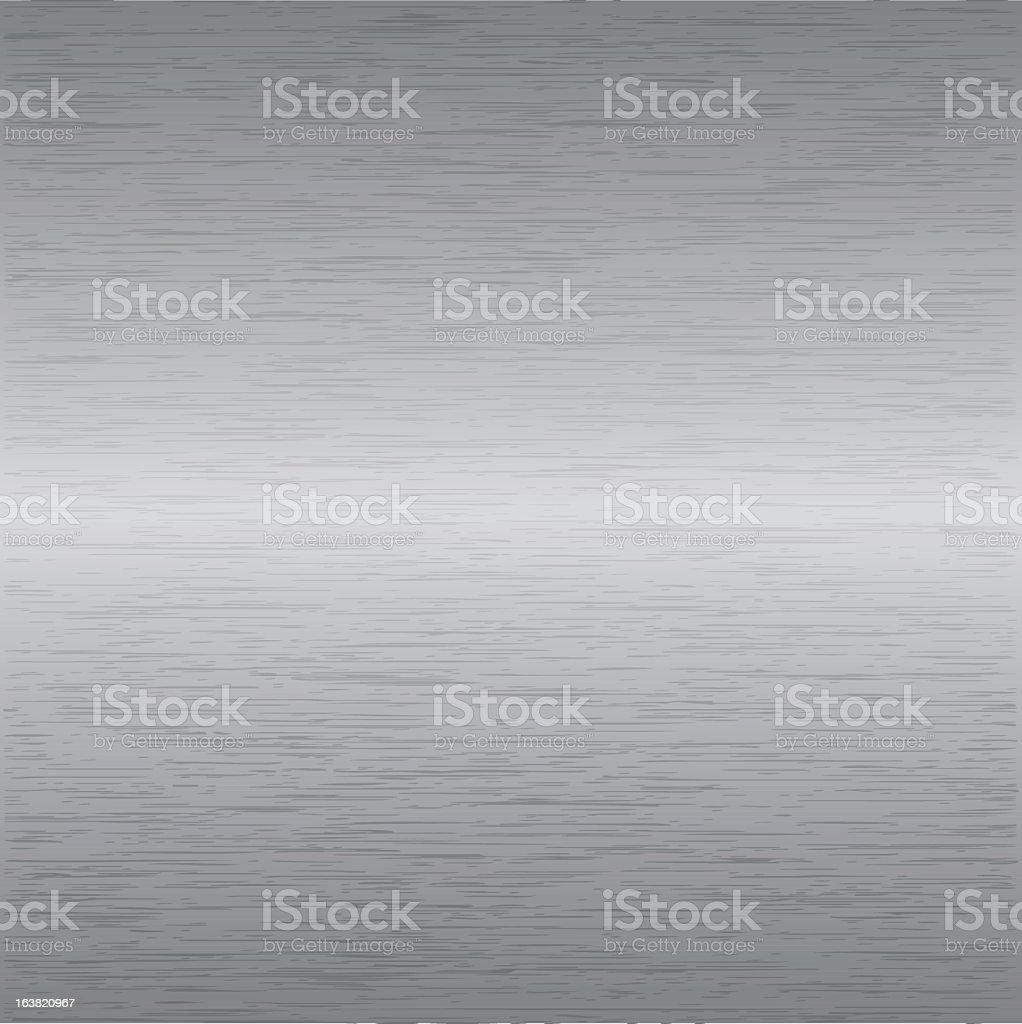 Grey gradient metal background vector art illustration