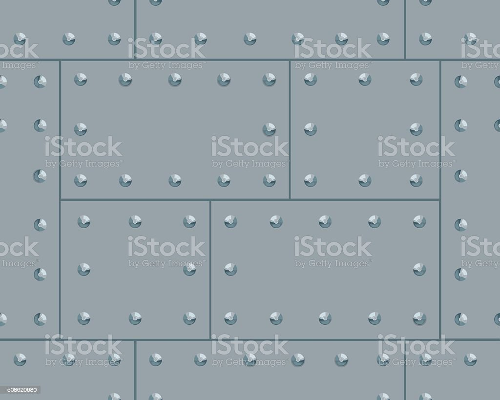 Grey metalic pattern vector art illustration