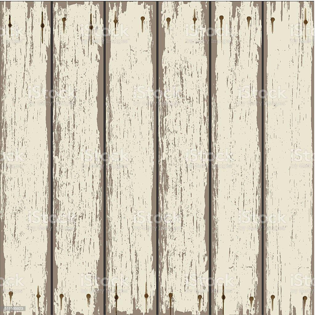 Grey old wooden texture vector art illustration