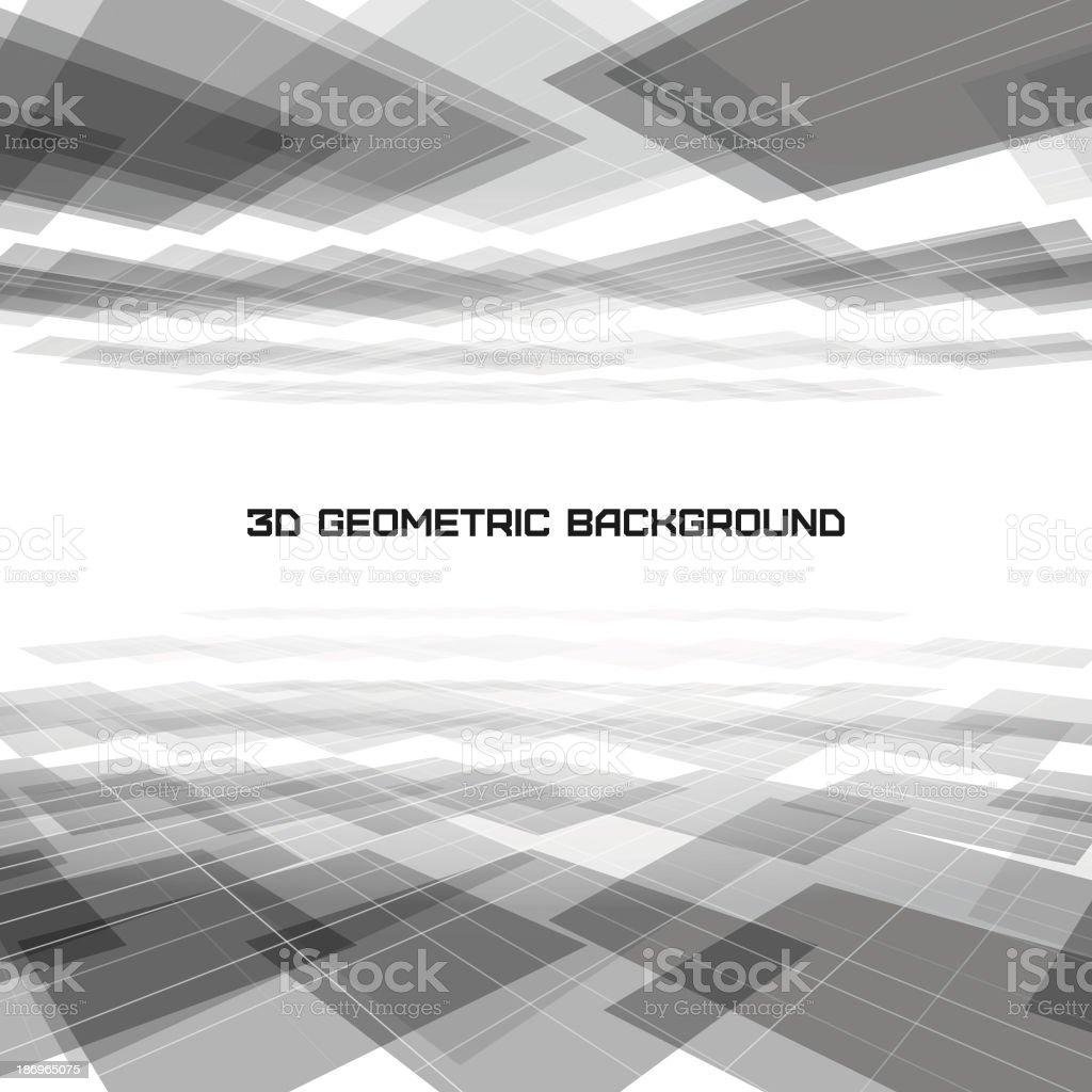 Grey squares geometric background vector art illustration