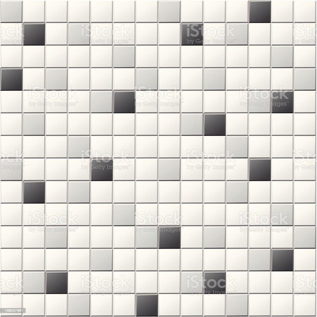 grey tiles vector art illustration
