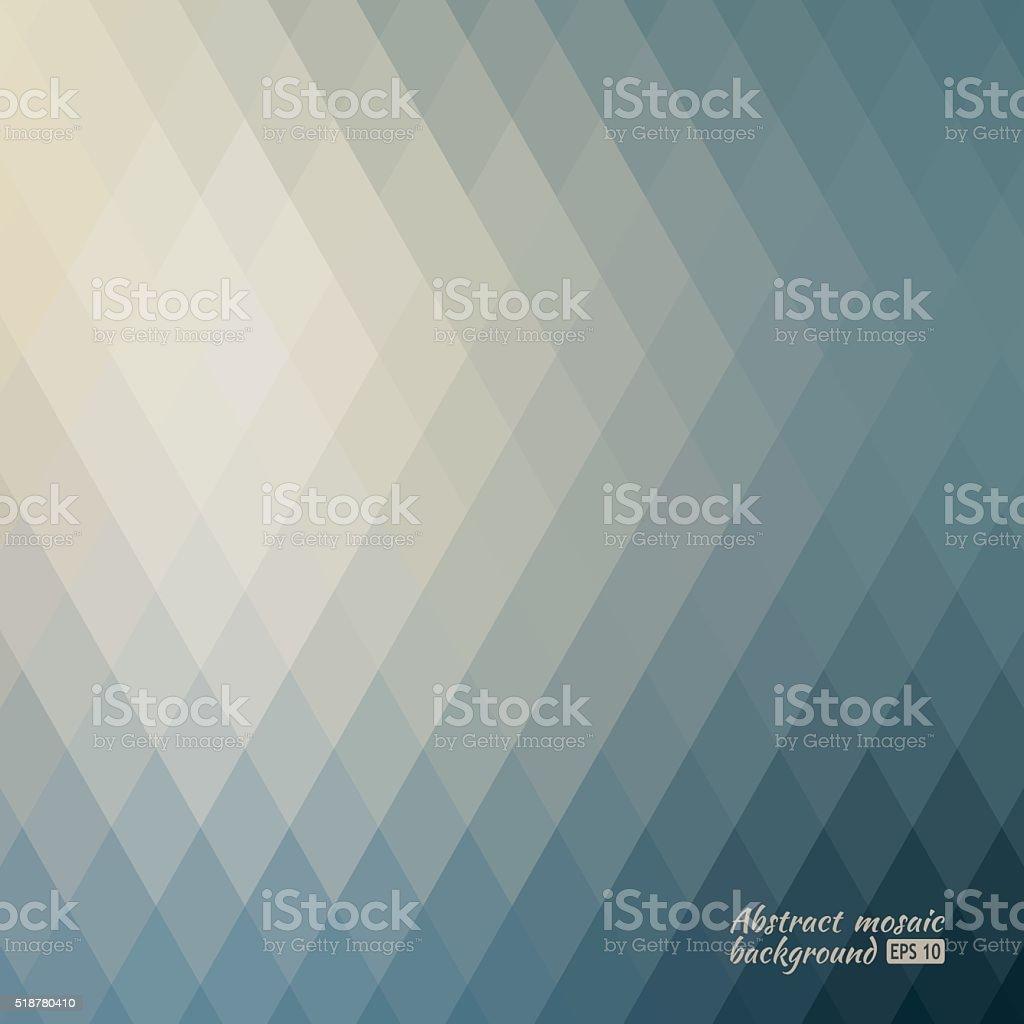 Grid Mosaic Background, Creative Design Templates vector art illustration