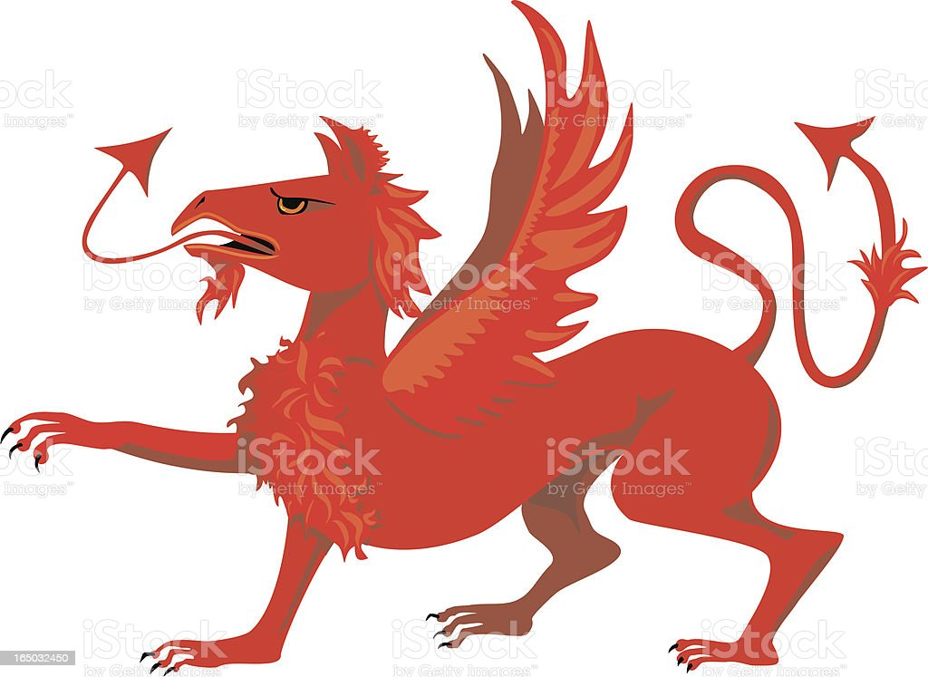 Griffin  or gryphon Heraldic Image - Vector royalty-free stock vector art