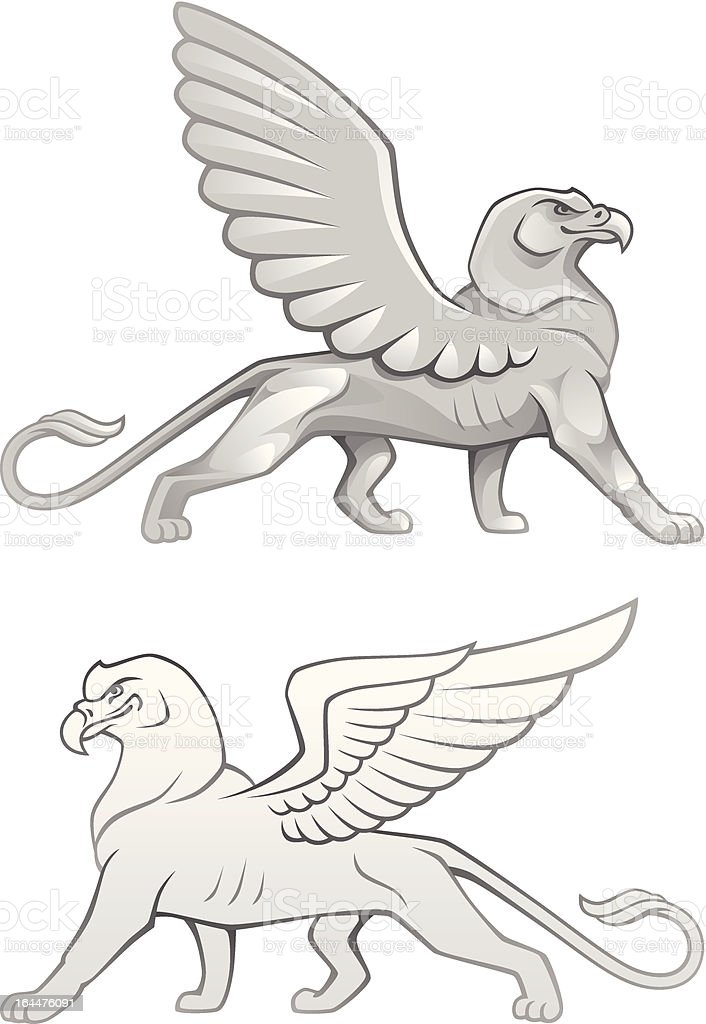 Griffin royalty-free stock vector art