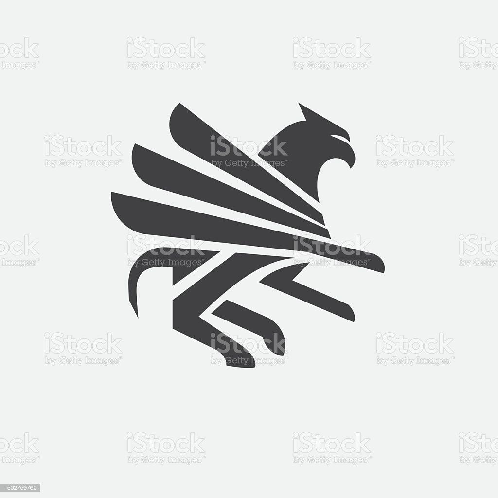 Griffin vector art illustration