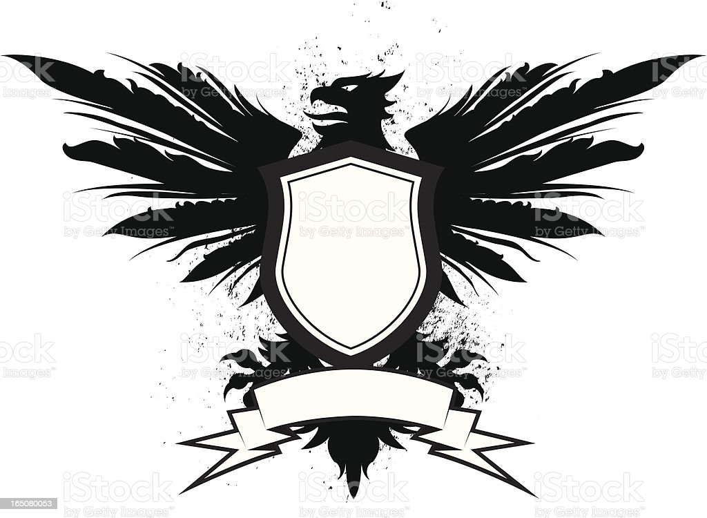 griffin wingspan royalty-free stock vector art