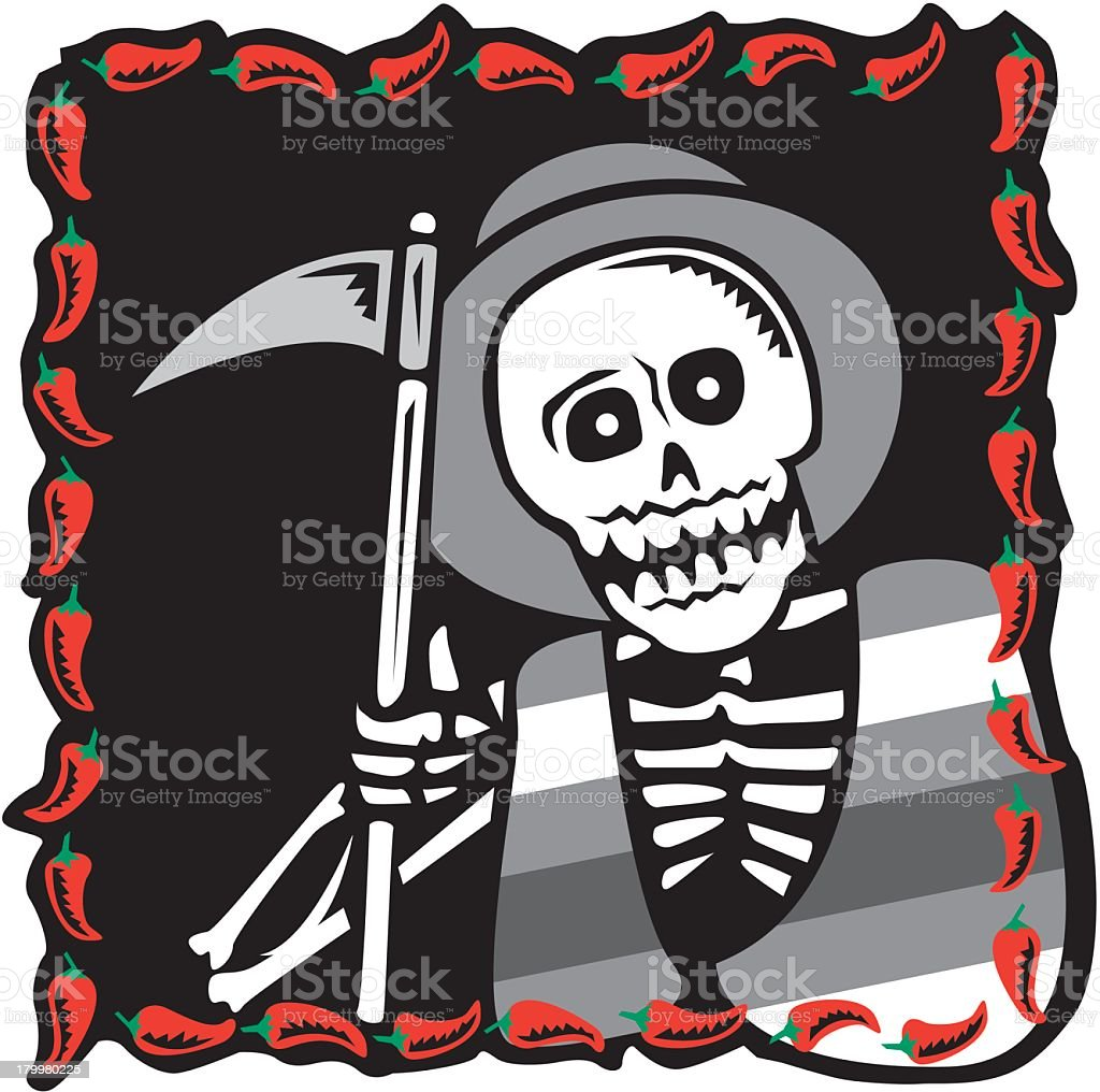 Grim Reaper royalty-free stock vector art