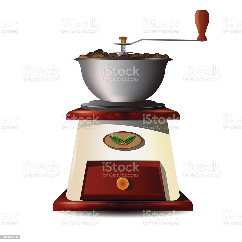 grinder vector art illustration
