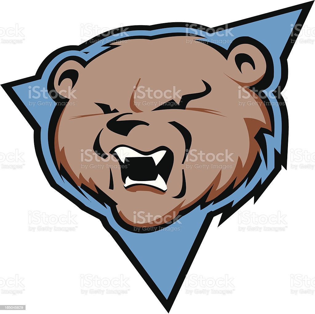 Grizzly Bear royalty-free stock vector art