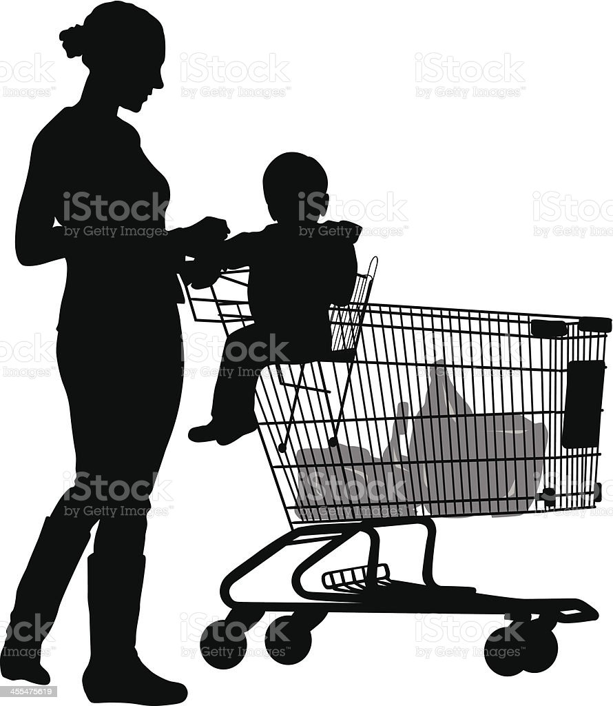 Grocery Shop royalty-free stock vector art