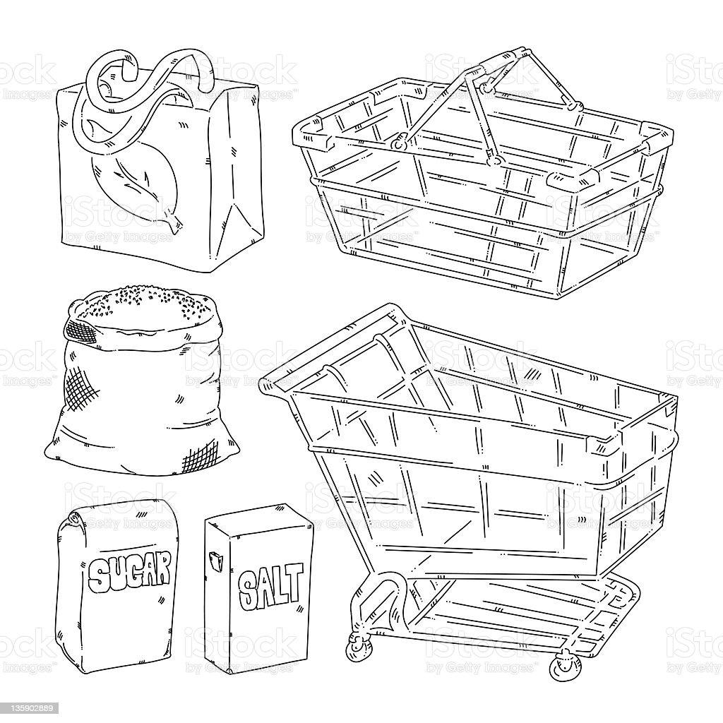 Grocery stock photo