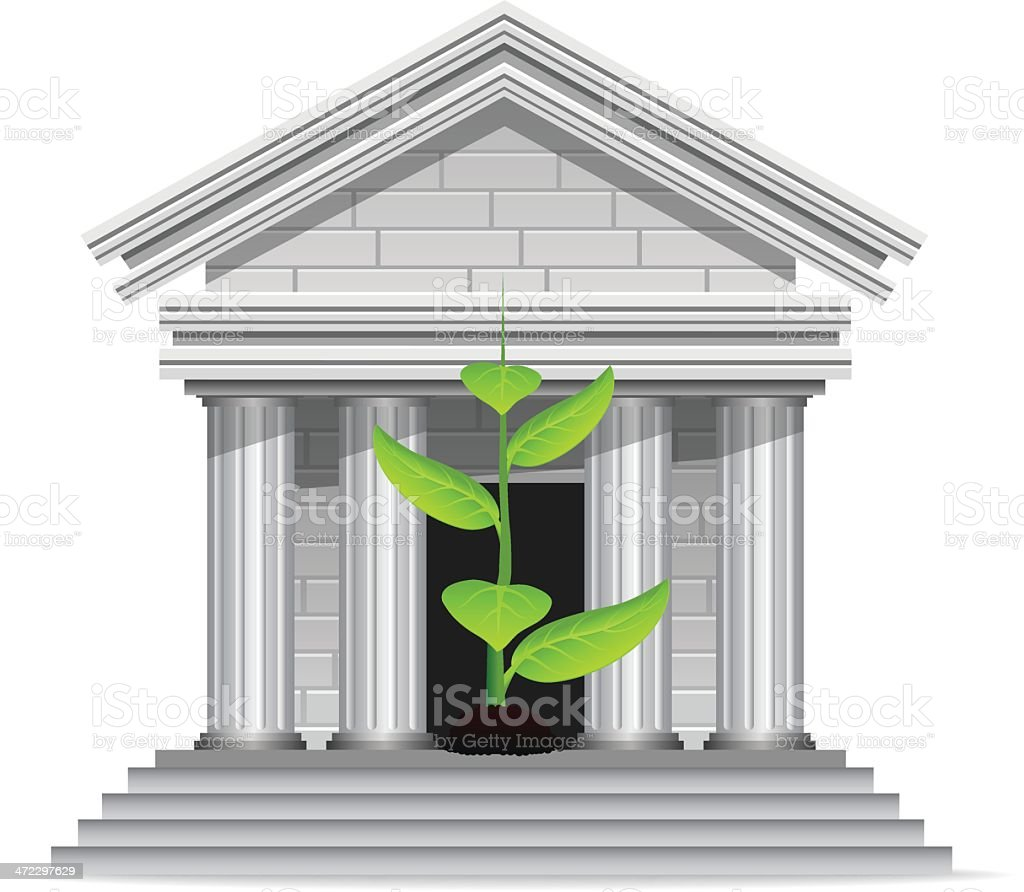 Growing Investments royalty-free stock vector art