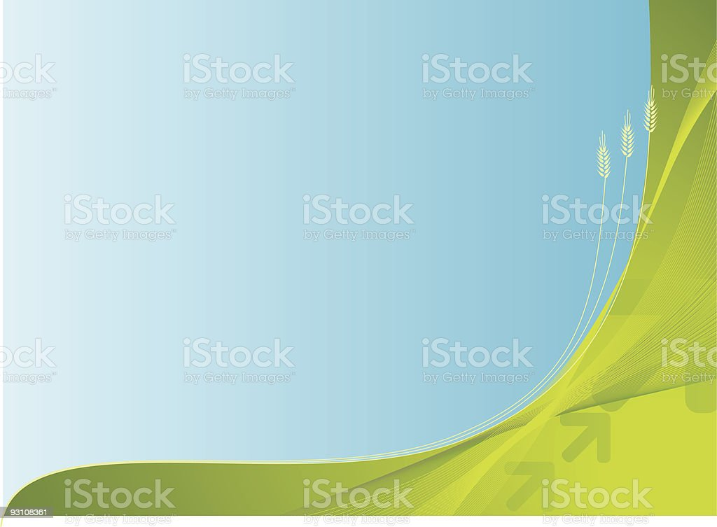 growth background royalty-free stock vector art