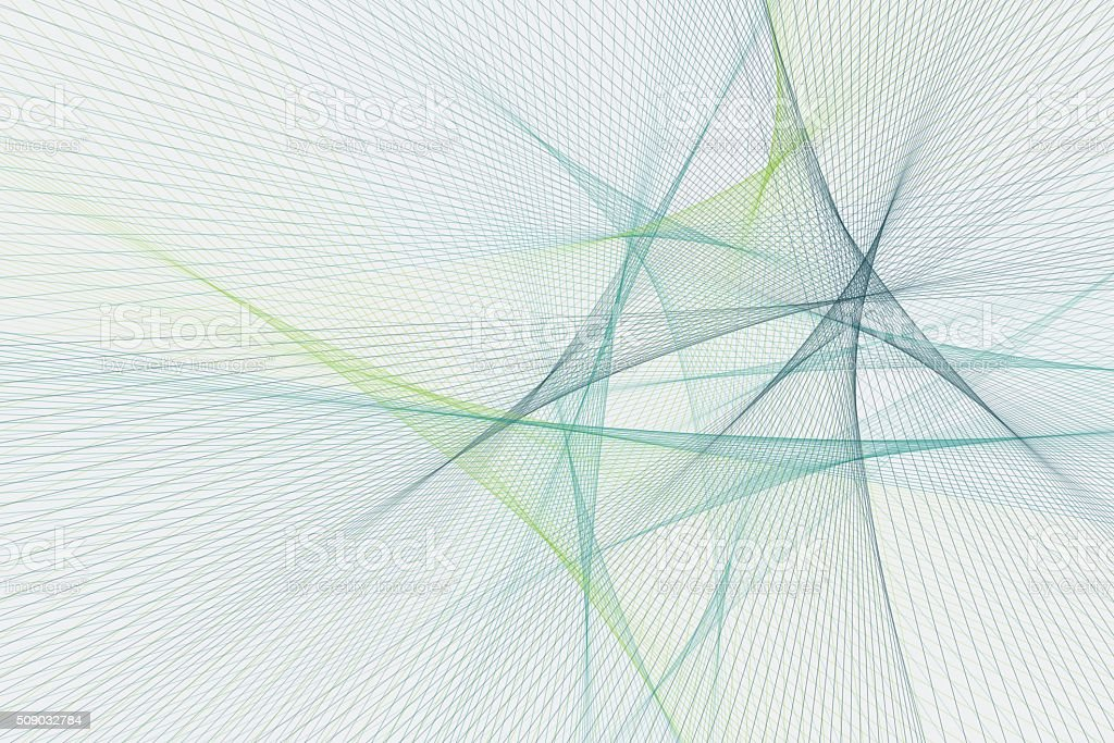 Growth Computer Graphic Line Pattern vector art illustration