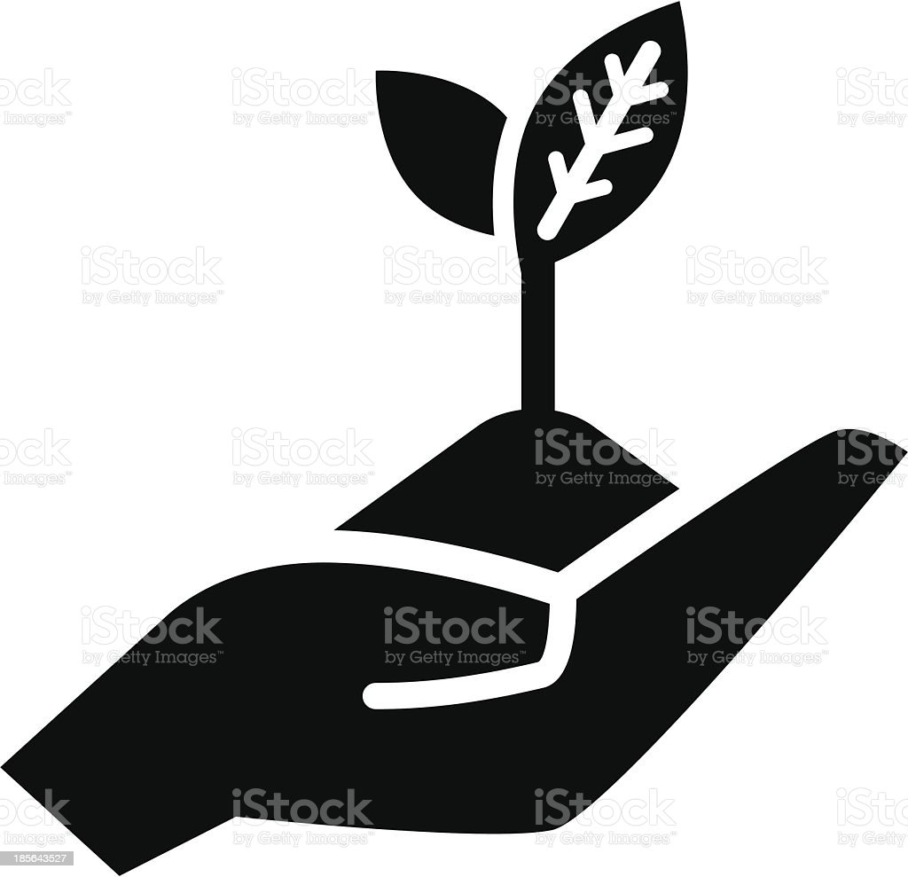 Growth concept icon vector art illustration