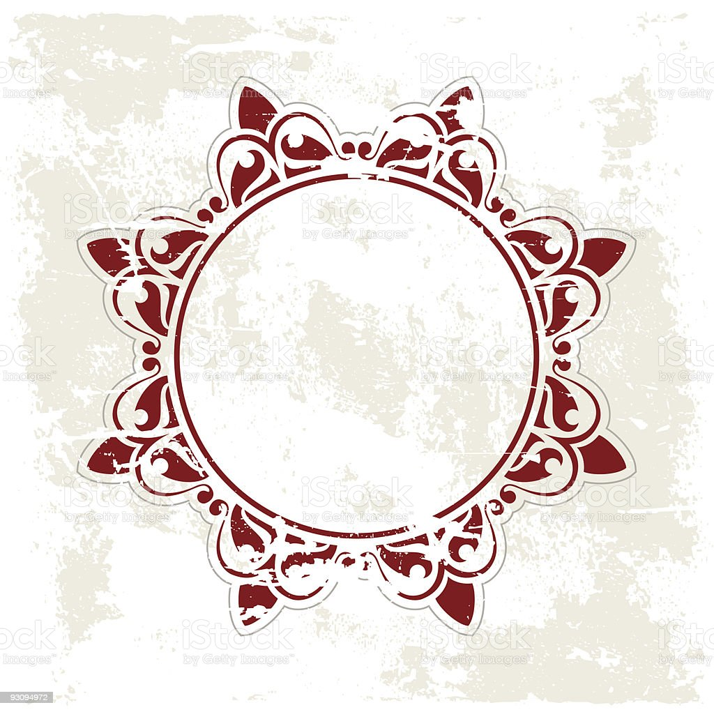 Grunge ancient pattern royalty-free stock vector art