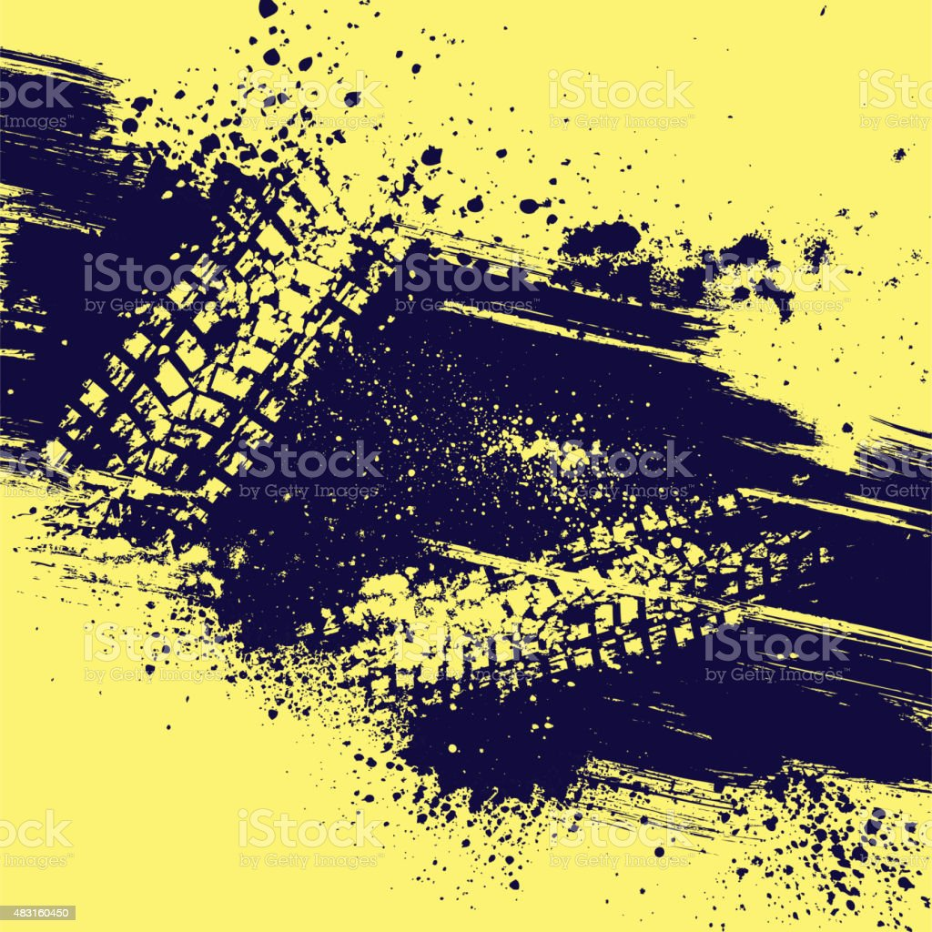 Grunge background abstract vector art illustration