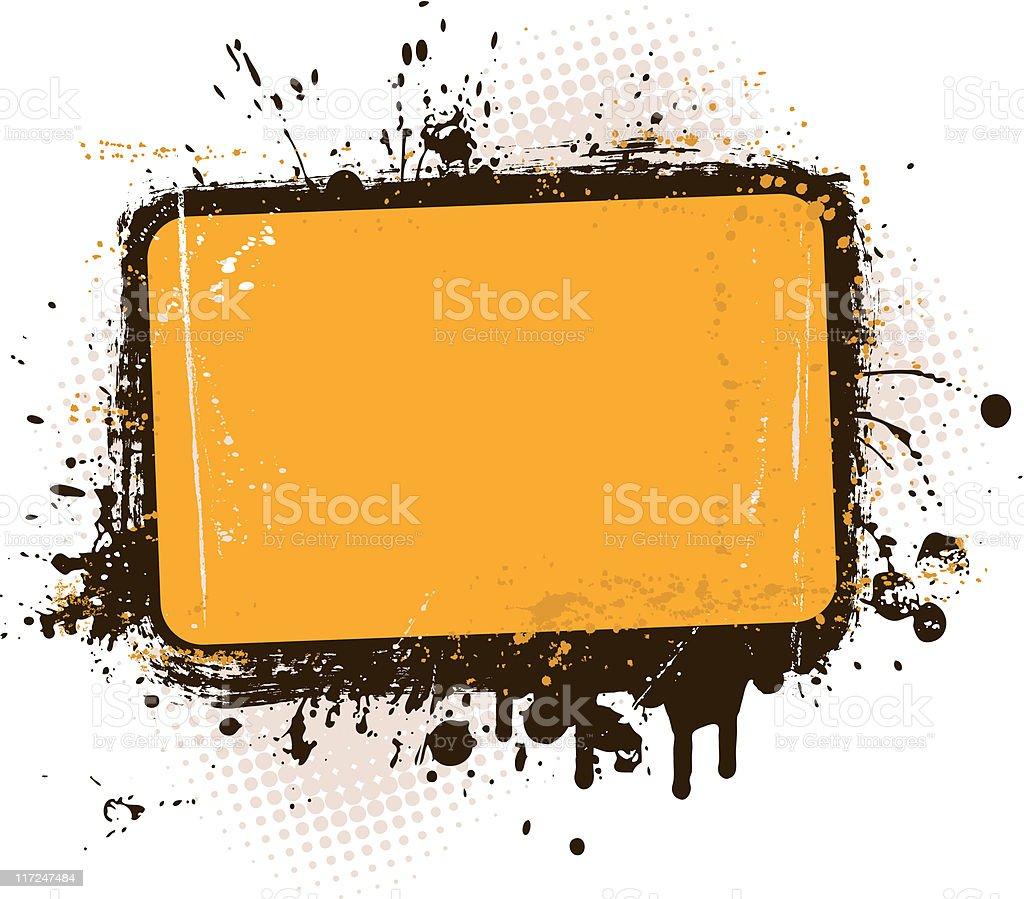 Grunge Banner royalty-free stock vector art