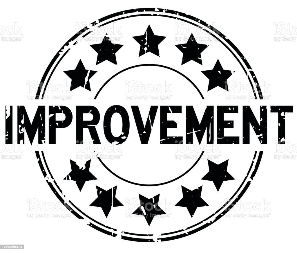 grunge black improvement with star icon round rubber seal black history clip art borders black history clip art 2018