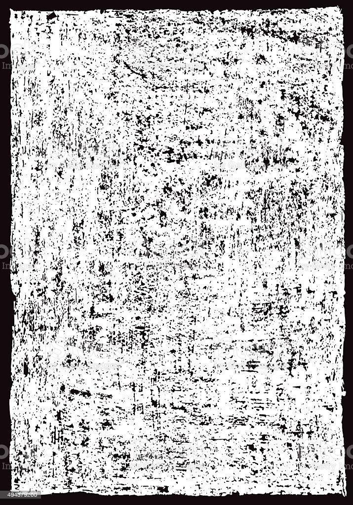 Grunge border frame and texture vector art illustration