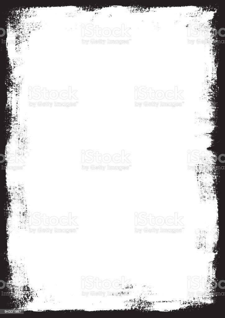 Grunge Border (vector & XXL JPG) royalty-free stock vector art
