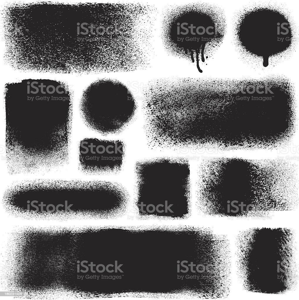 Grunge design elements royalty-free stock vector art