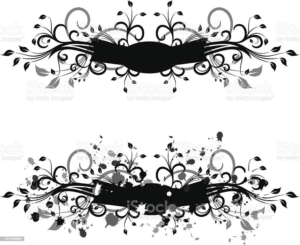 Grunge element for design, vector vector art illustration