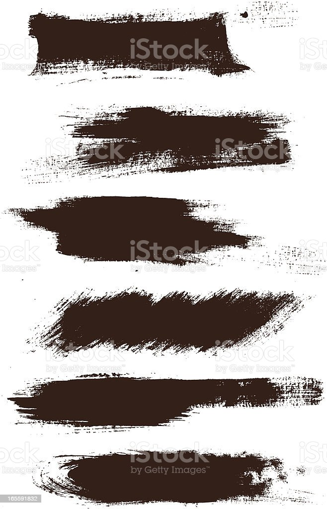 grunge elements simple royalty-free stock vector art