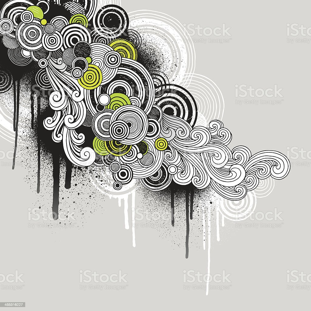 Grunge Flow royalty-free stock vector art